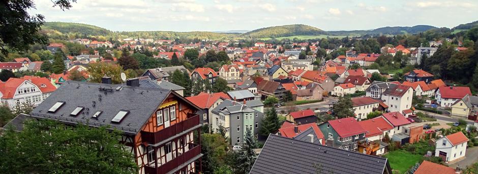 Modern ausgestattete Ferienwohnungen in einer Villa am Waldrand in Friedrichroda
